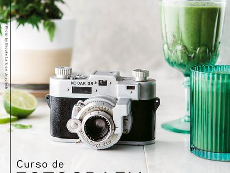 Curso de Fotografia online em setembro!