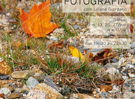 Turma do curso de fotografia inicia em junho
