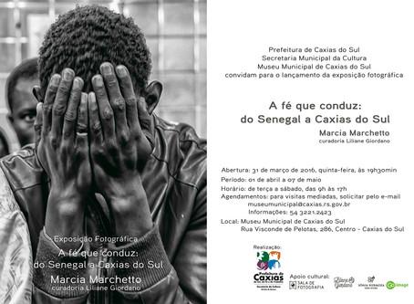 Exposição fotográfica registra religiosidade dos imigrantes senegaleses em Caxias do Sul