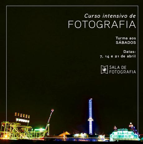 Curso de fotografia aos sábados