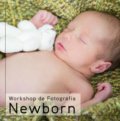 Inscrições abertas para Workshop de Fotografia Newborn!