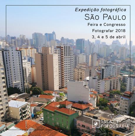 Expedição fotográfica a maior feira de fotografia da América Latina
