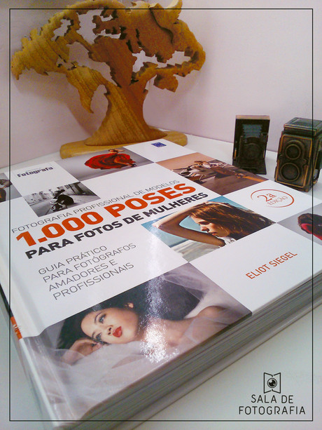 Dica de livro: 1000 poses para fotos de mulheres