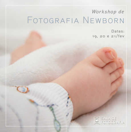Workshop de fotografia newborn!