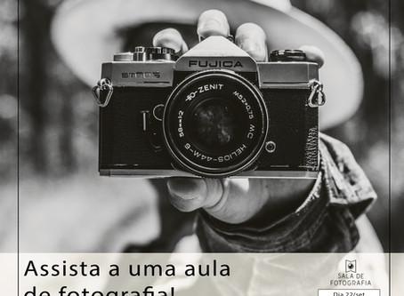 Aula gratuita de Fotografia!