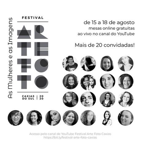 Festival Arte Foto Caxias: Sala realiza evento online