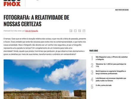 Sala de Fotografia em um dos maiores portais de fotografia do Brasil