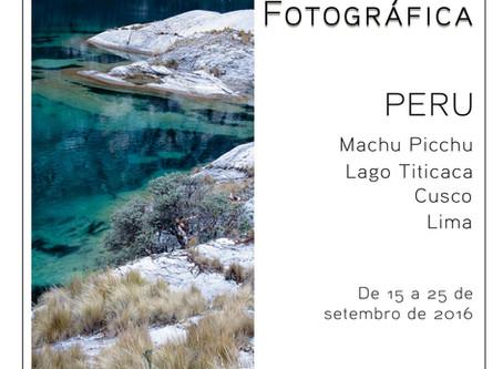 Expedição fotográfica para o Peru em setembro!