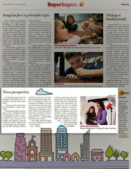 Sala de Fotografia no Jornal Pioneiro