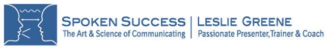 Spoken Success, LLC | Presentation Training & Public Speaking Coaching