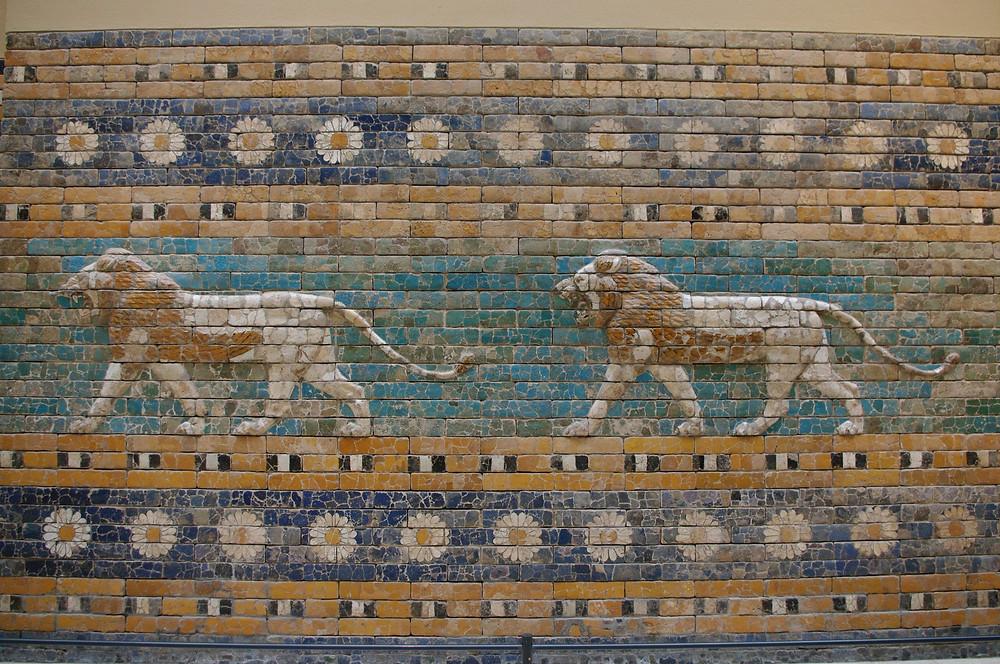 Ishtar's lion