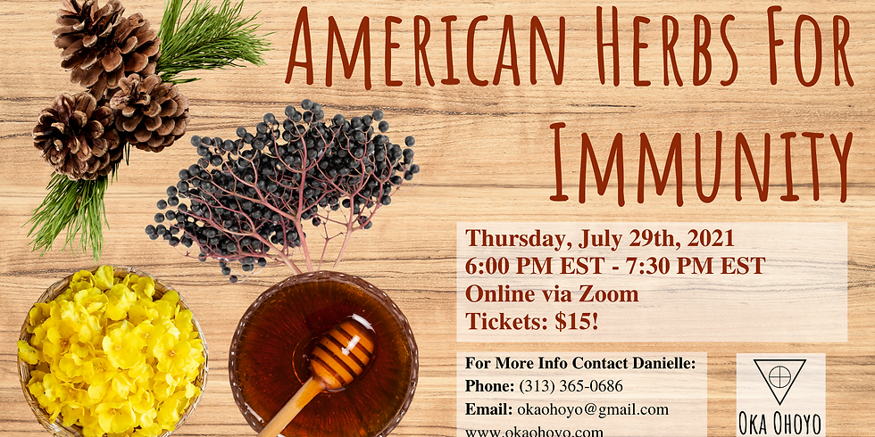 American Herbs For Immunity