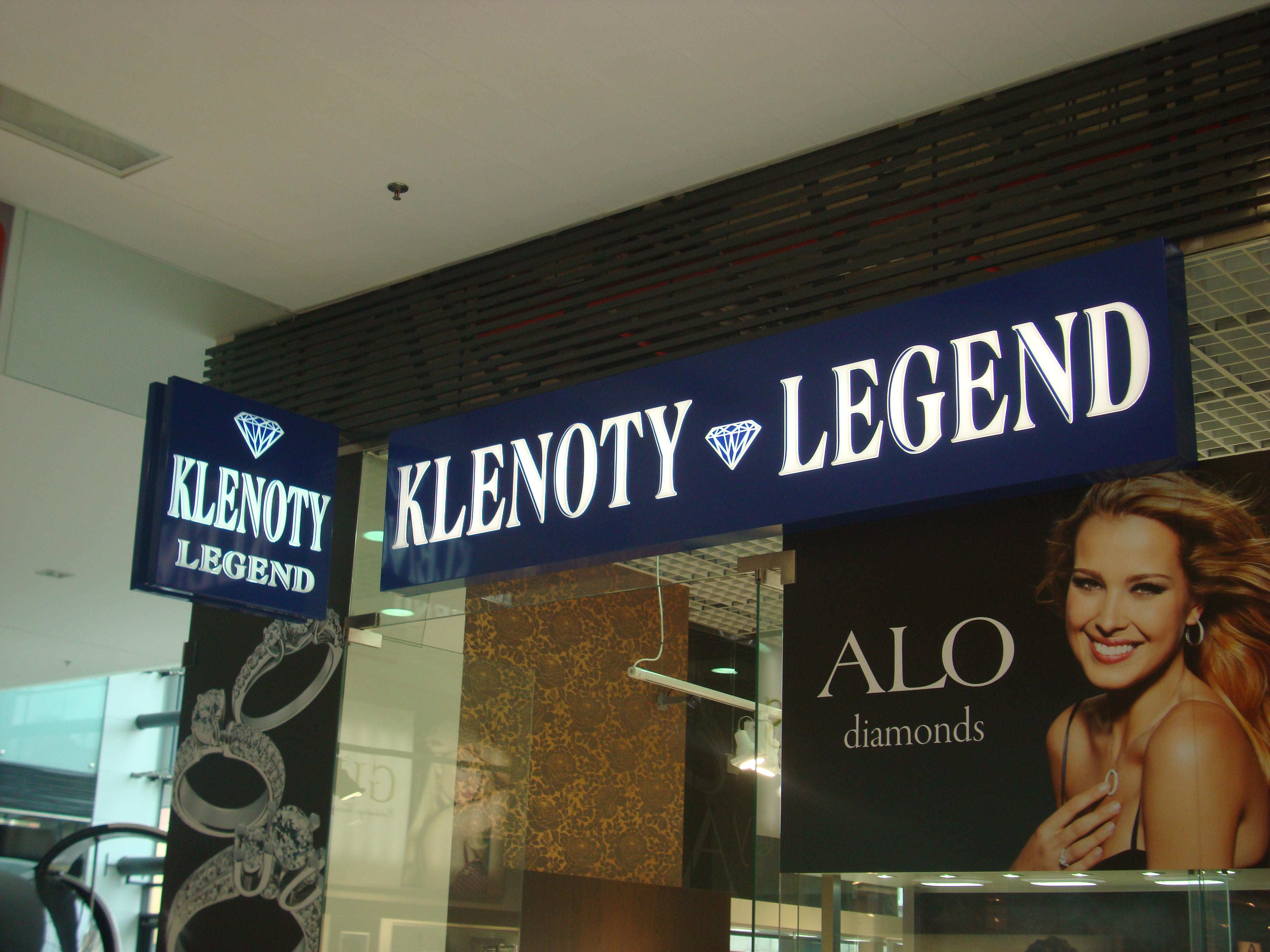 KLENOTY LEGEND