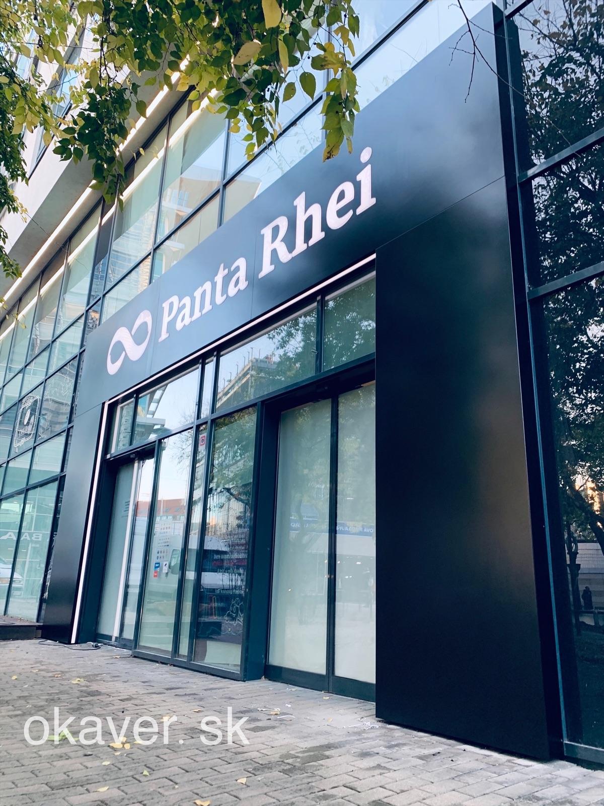 Panta Rhei - Bratislava, okaver