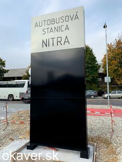 ARRIVA - autobusová stranica Nitra, okav