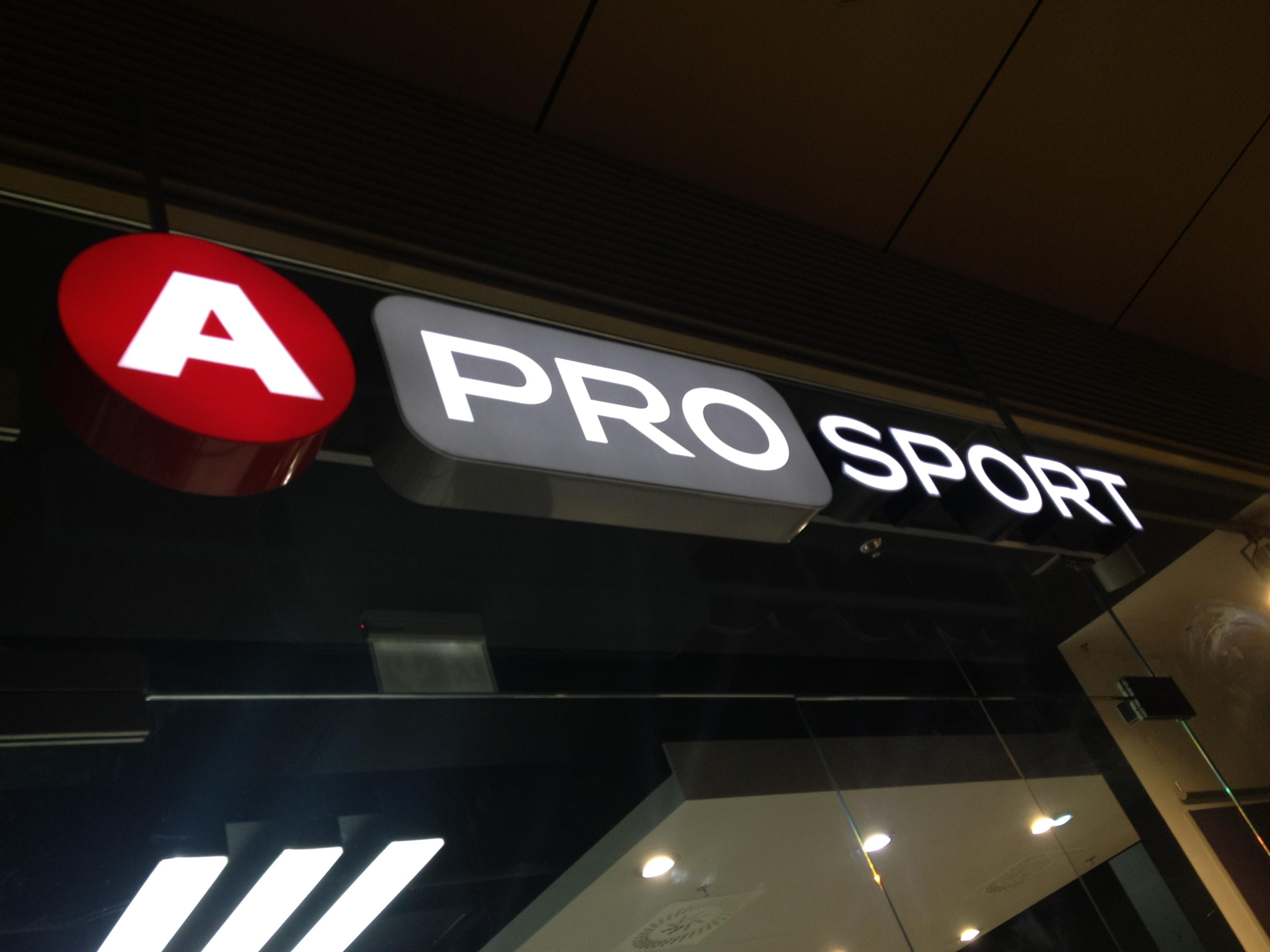 A pro sport