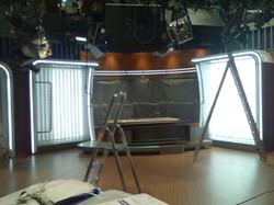 Osvetlenie štúdia  TV Markíza