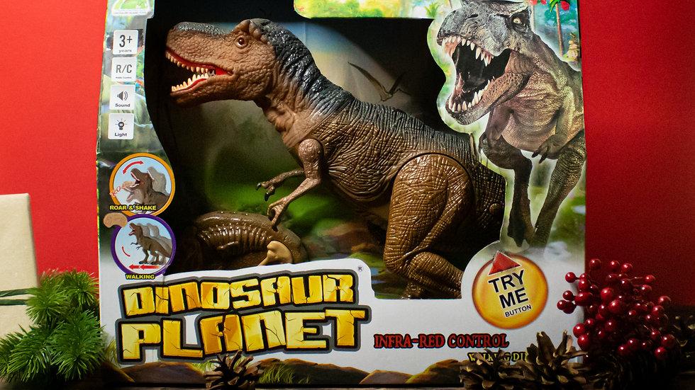 Riaumojantis ir vaikštantis dinozauras 1 vnt.