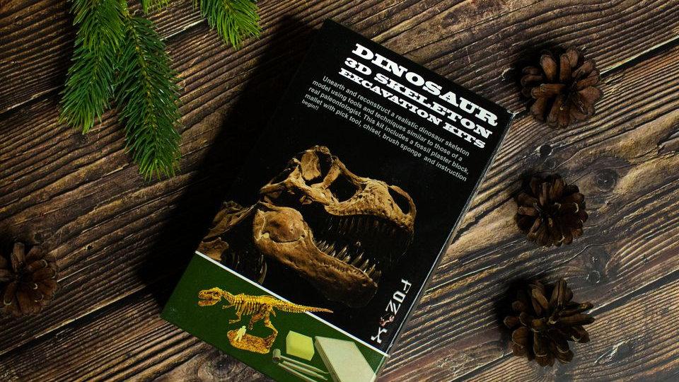 """Mažojo archeologo rinkinys """"Atrask dinozaurą"""""""