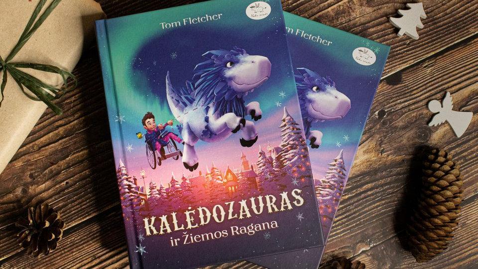 """Knyga """"Kalėdozauras ir žiemos ragana"""""""