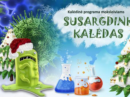 """Gripo Viruso mokslinis sąmokslas prieš šventes """"Susargdink Kalėdas"""""""