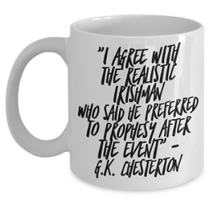 GK Chesterton best inspirational thoughts and quotes