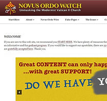 Novus Ordo Watch