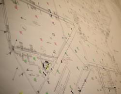Plattegrond van ons lichtplan