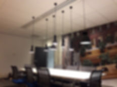 Projectverlichting bij Mitshubishi elevators