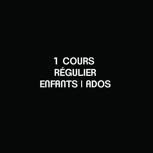 A- 1 COURS RÉGULIER Enfants | Ados