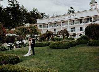 Roche Harbor Wedding / San Juan Islands