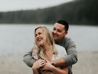 Rattlesnake Lake Engagement Session / Emily & Kyle