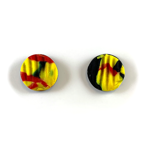 'Our Colours' Polymer Clay Studs