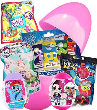 Girls Mega Mystery Egg Large Surprise Gift Birthday Easter Christmas Toy