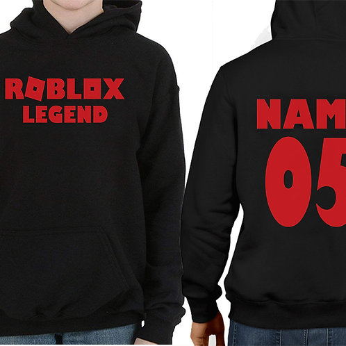 Boys & Girls Personalized Gift Hoodie Xbox & PlayStation Blox Game Christmas
