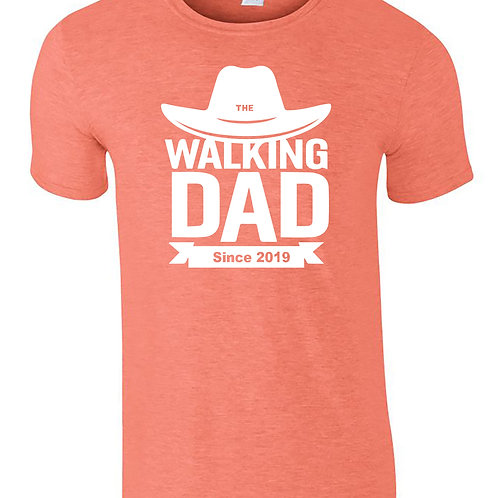 The Walking Dad Fathers Day T-Shirt Walking Dead Themed