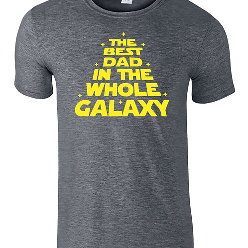 The Best Dad In The Galaxy Star Wars Fathers Day T-Shirt