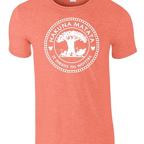 Hakuna Matata Disney Inspired T-Shirt Unisex Adult