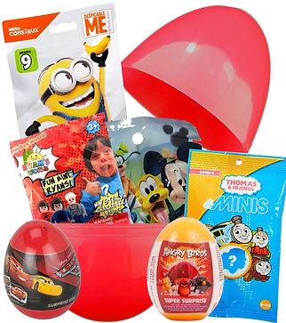 Boys Mega Mystery Egg Large Surprise Gift Birthday, Easter, Christmas Toys