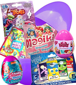 Girls Filled Mystery Surprise Egg Birthday Easter Present Large Giant Jumbo