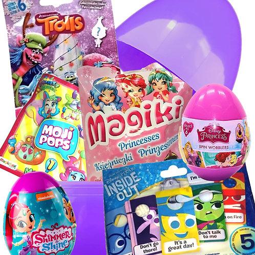 Girls Filled Mystery Surprise Egg Birthday Easter Present Large Giant Jumbo