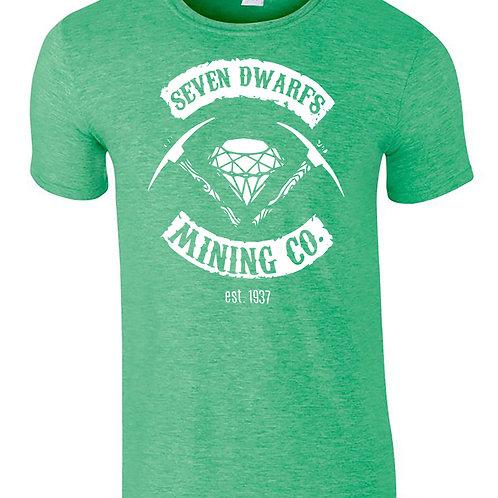 Seven Dwarfs Mining Co Disney Inspired T-Shirt Unisex Adult