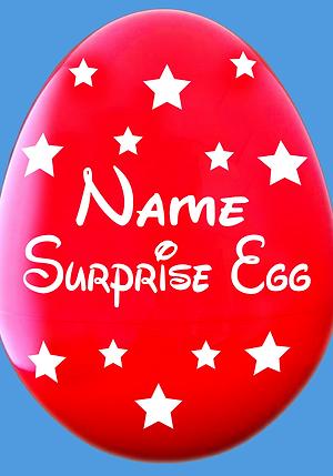 Giant Easter Egg Decal Name & Stars