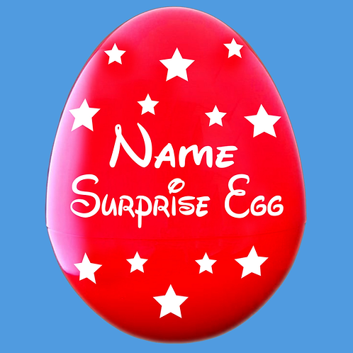 Giant Easter Egg Decal Name & Stars