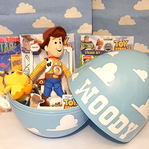 Giant 14'' Surprise Egg Filled With Toy Story Licensed Merchandise Any Name