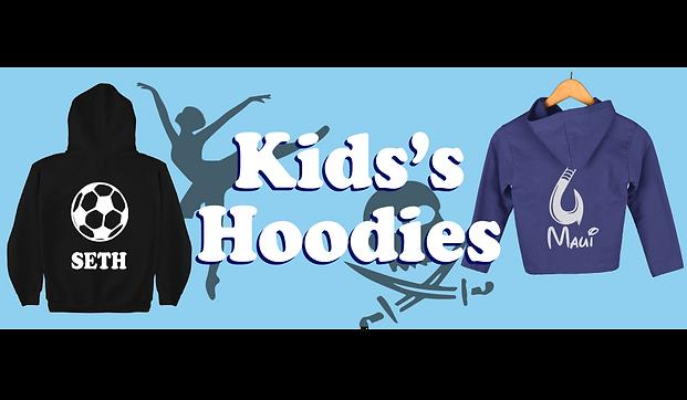 Personalized Kid Hoodies