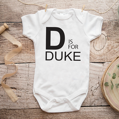 Letter is For New Baby Personalized Baby Grow Gift New Mum Christmas Present