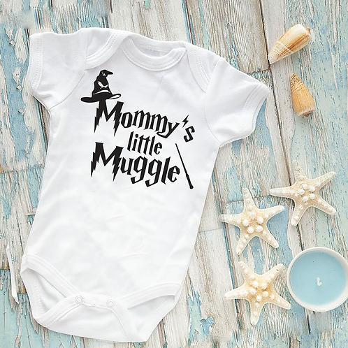 Mummy's Little Muggle New Baby Vest Mum's Present Gift