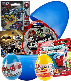 Boys Filled Mystery Surprise Egg Birthday Easter Present Large Giant Jumbo
