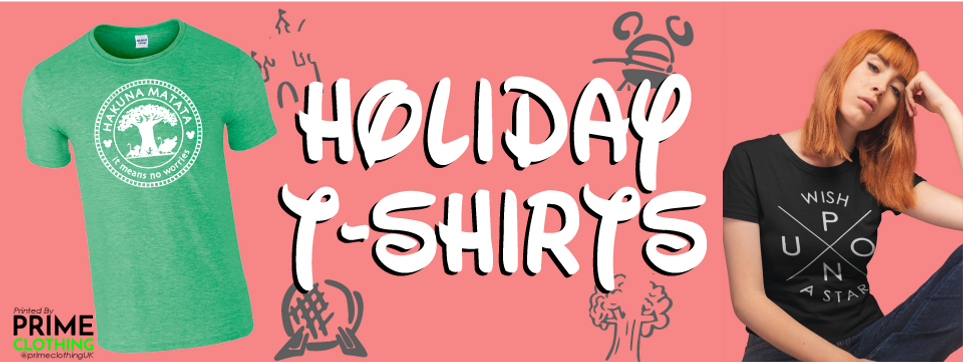 Disney Holiday T-Shits